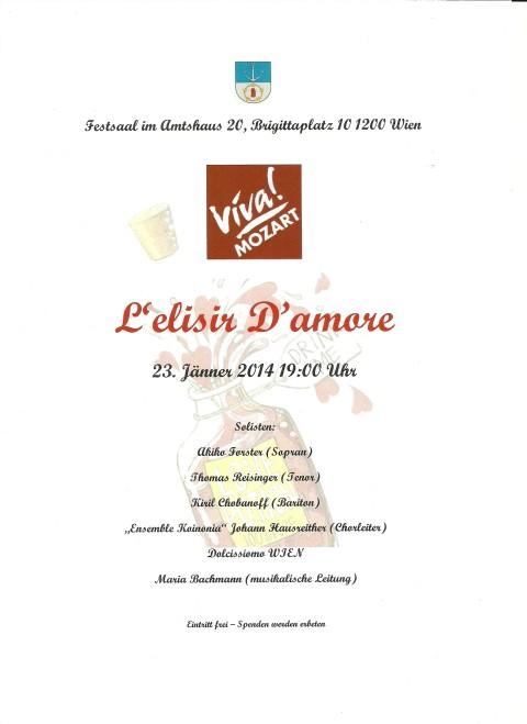 Viva Mozart und L'elisir D'amore