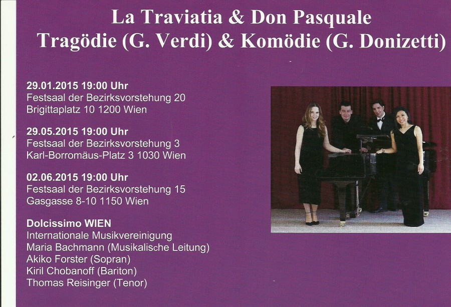 Don Pasquale & La Traviata